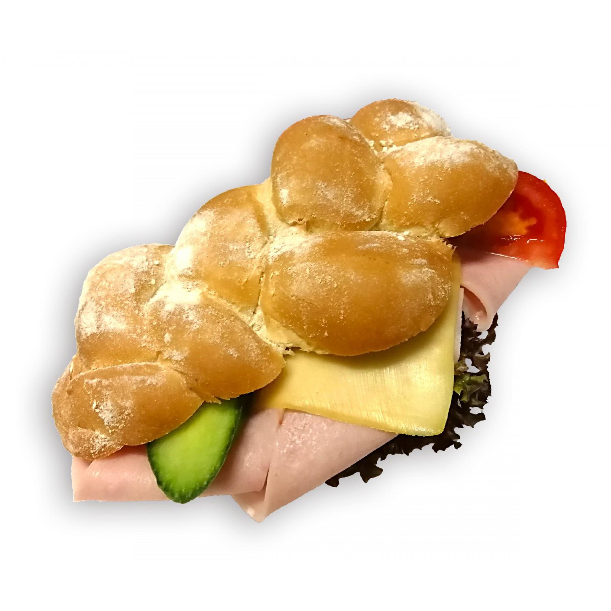 Sonkás-sajtos