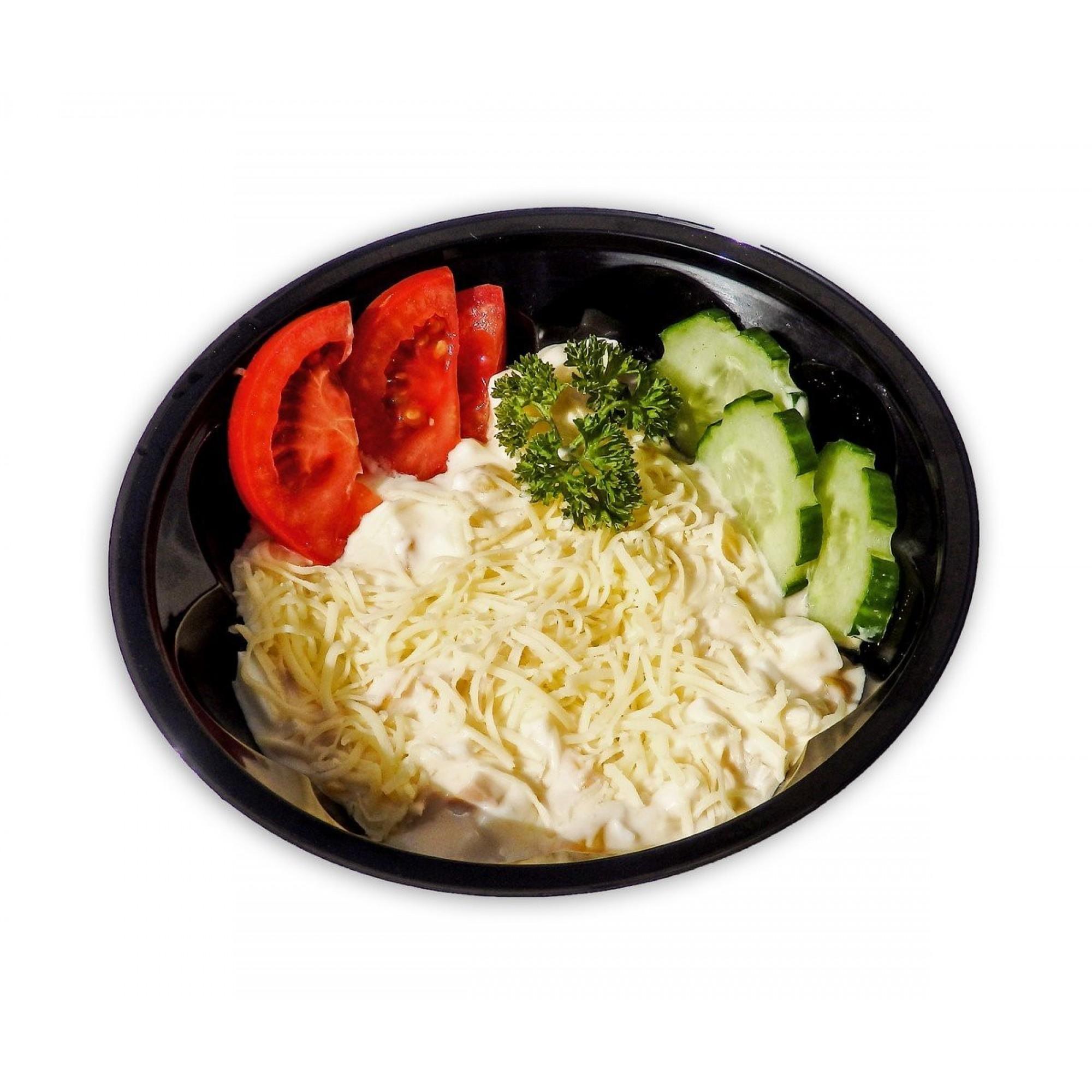 Őszibarackos sajtsaláta  lédig/kg